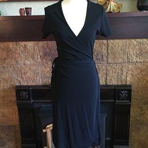 GAP wrap-around dress